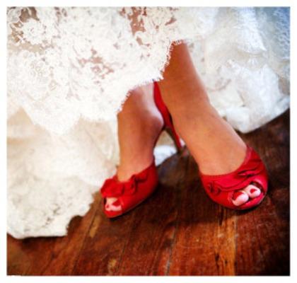 Como escolher sapatos de noiva