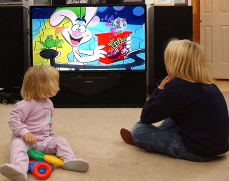 TV no quarto das crianças?